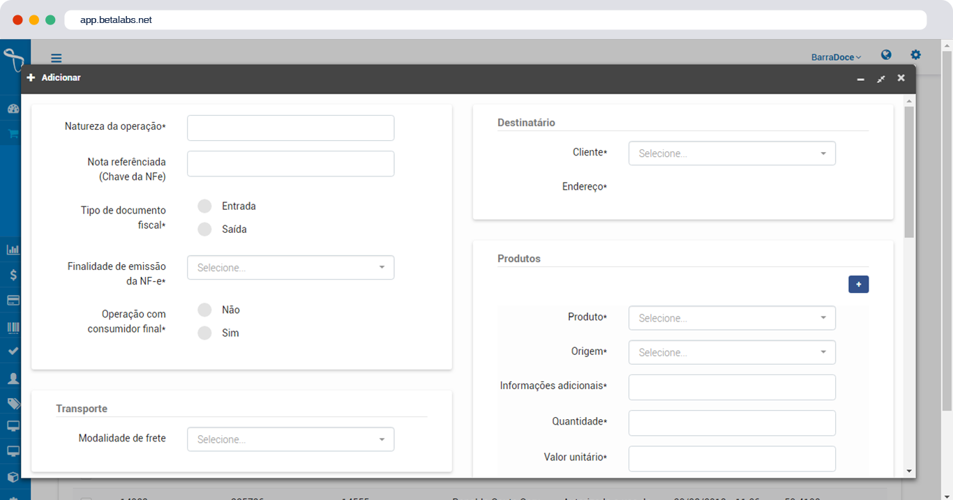Automatize a emissão de NFS, Etiquetas e E-mails para clientes