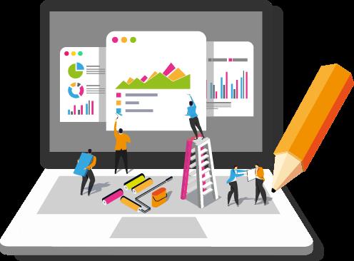 Projetos sob medida para grandes empresas com equipe exclusiva
